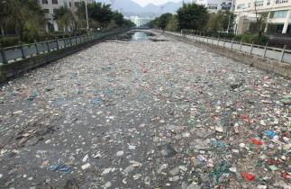 Rio contaminado