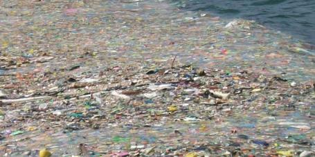 isla de plastico pacifico norte